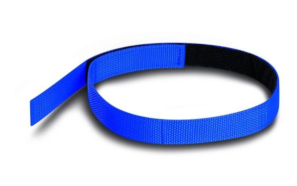 PAX Klettband für Schlauchpaket blau