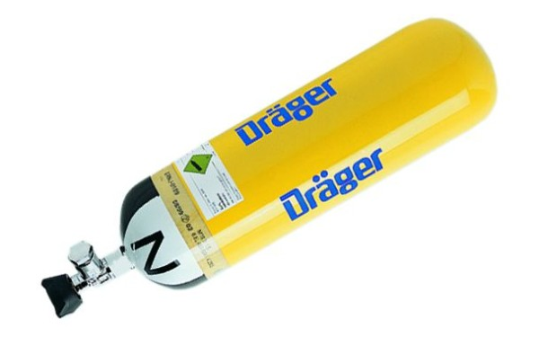 DRÄGER Druckluftflasche 6,8 l/300 bar / LL 15