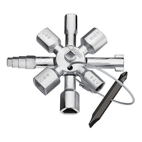 Universalschlüssel KNIPEX TwinKey