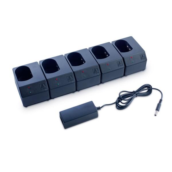ADALIT Ladegerät 230 V für 5 Handlampen