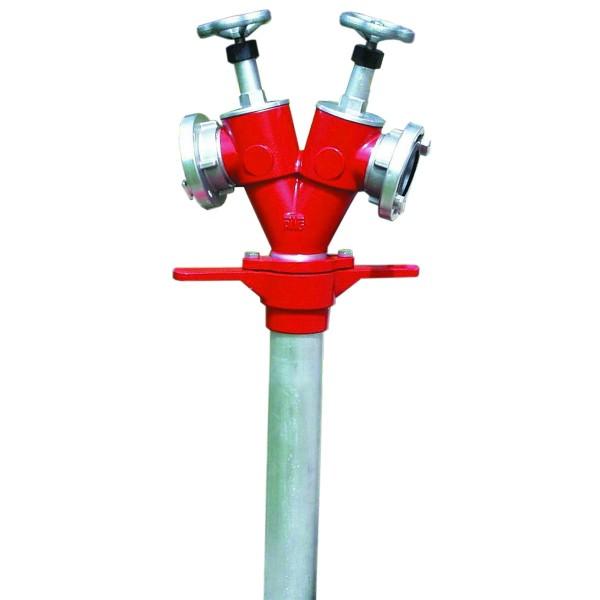 AWG Hydrantenstandrohr DN 80, Abgang 2 x B