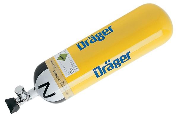 DRÄGER Druckluftflasche 6,8 l/300 bar/ LL 20 Jahre