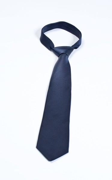 Krawatte dunkelblau ohne Emblem