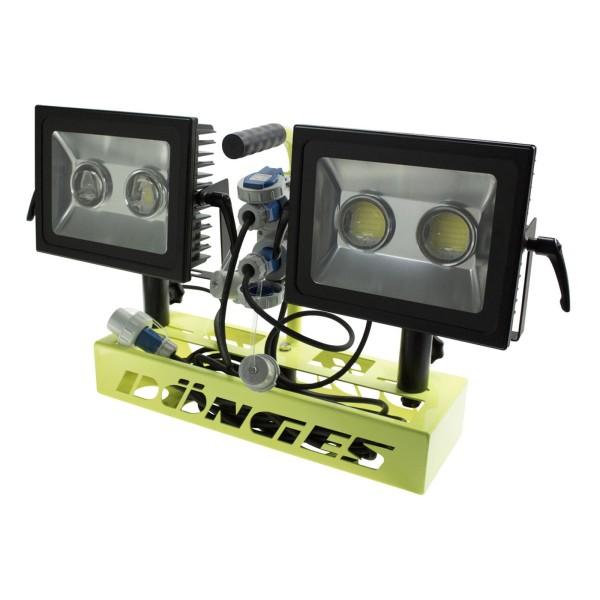 Scheinwerferträger Satz LED 100 W