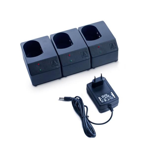 ADALIT Ladegerät 230 V für 3 Handlampen