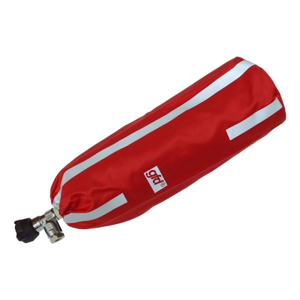 gfd® Flaschenhülle für Druckluftflaschen rot