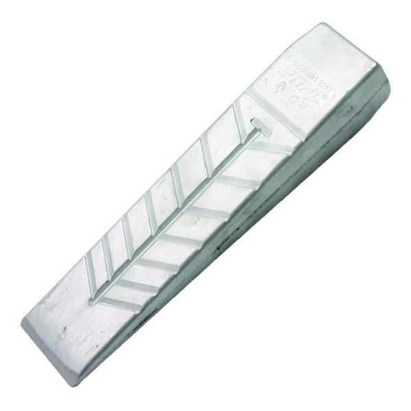 Fäll- und Spaltkeil aus Aluminium 215 mm lang